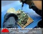 PCB/circuit board recycling equipment video.wmv
