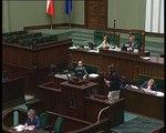 Poseł Bożena Kamińska - Wystąpienie z dnia 08 lipca 2015 roku.