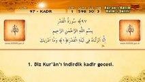 97 Sure Kadr Suresi