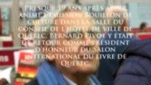 Beaucoup de Français au Salon du livre de Québec présidé par Bernard Pivot