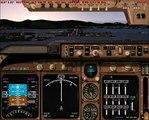 [FS2004] Air France 747 landing at TNCM