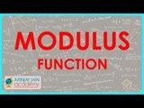 Class XI - CBSE, ICSE, NCERT -  Modulus function