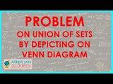 467.$ CBSE Maths Class XI, ICSE Maths Class 11- Problem on union of sets bydepicting on Venn Diagram