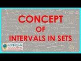 497.$ CBSE  Maths Class XI, ICSE Maths Class 11-   Concept of intervals in sets