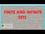 486.$ CBSE  Maths Class XI, ICSE Maths Class 11-    Finite and Infinite sets