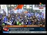 Bolivia: cierra Evo Morales campaña con multitudinario acto en La Paz