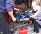Steyr-Puch motor indítás