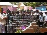 University of Jaffna observes silent protest against the isolation of Tamils in Vanni by Sri Lanka Gov