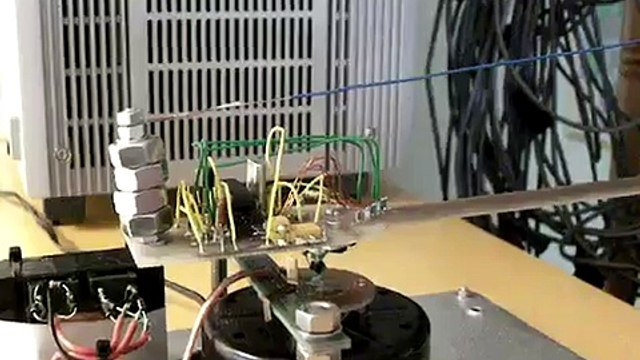 Spinning LED Display using Fan Motor - Featured on Hacked Gadgets