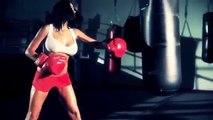 Hard workout motivation, Girls work so hard!!!, Rock Hard Workouts boxing girls great chal