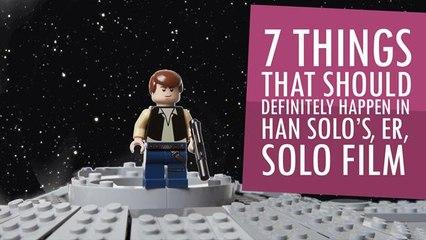 7 Things That Should Definitely Happen in Han Solo's, er, Solo Film