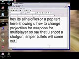 HMT tutorial: Changing Weapon Projectiles *[HALO TRIAL!]*