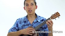 """UKULELE STRUM for SOMEWHERE OVER THE RAINBOW by IZ - (A """"How To"""" TUTORIAL).mp4"""