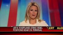 Libyan War Planes Strike Rebel Positions