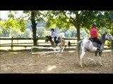 moi qui saute a cheval et a poney