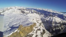Swiss from the air: Glacier 3000 , les Diablerets from the air