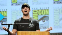 Stephen Amell and Emily Bett Rickards Role-Play Domestic Bliss