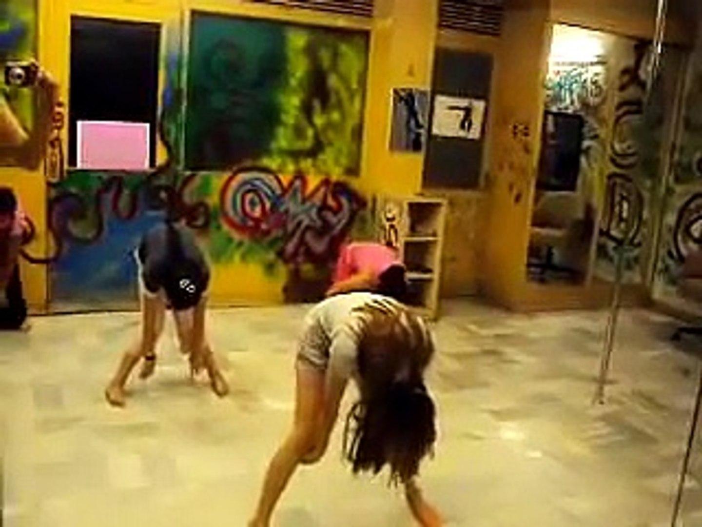 Indian Girls Practice Dance Amplifire Song