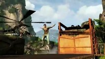 Uncharted 2 Gameplay Footage Rides The Jungle Train