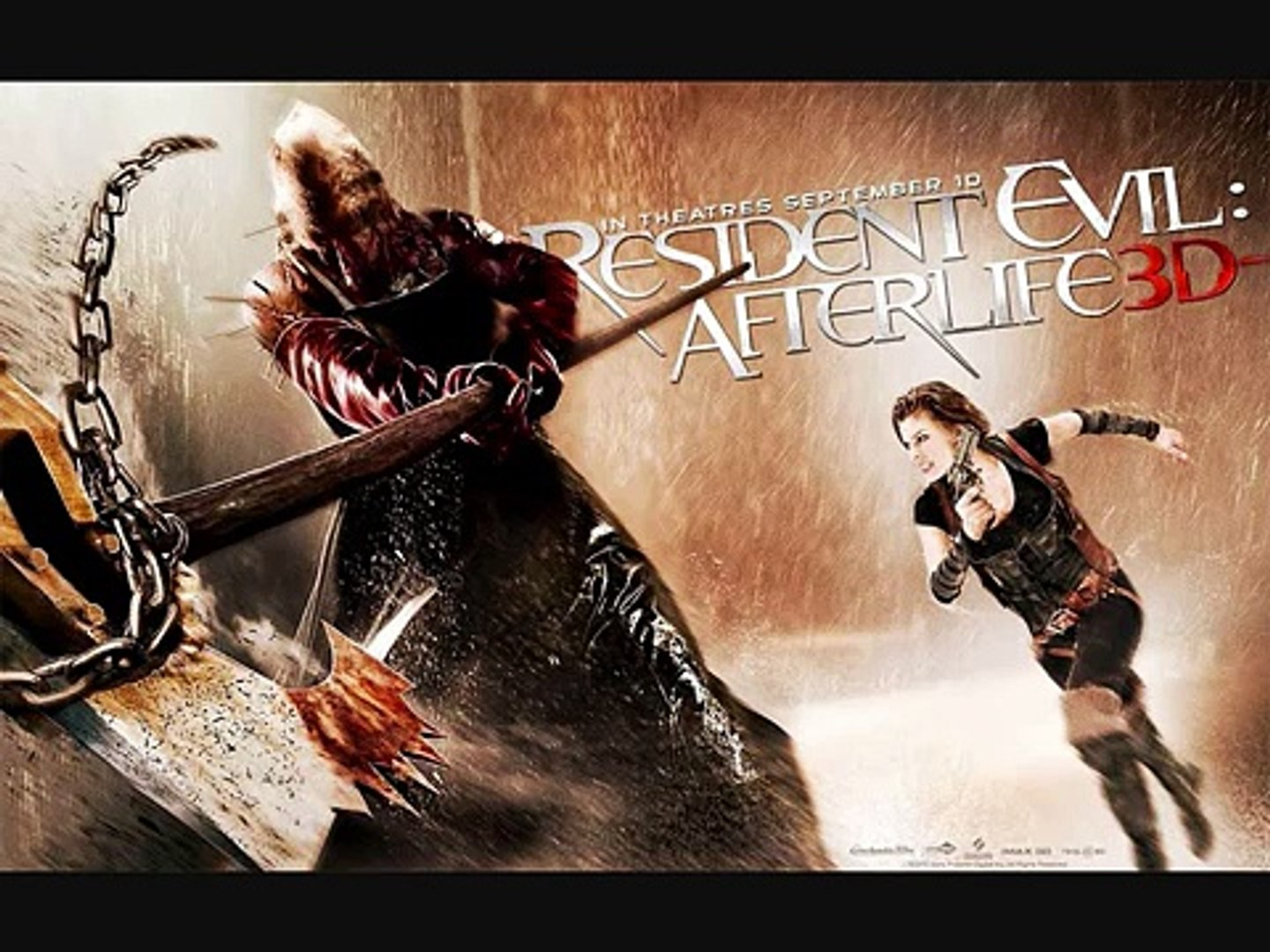 Resident Evil Afterlife Soundtrack Axeman Video Dailymotion