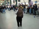 Funny Drunk Old Mexican Dancing at Beer Phest 2008