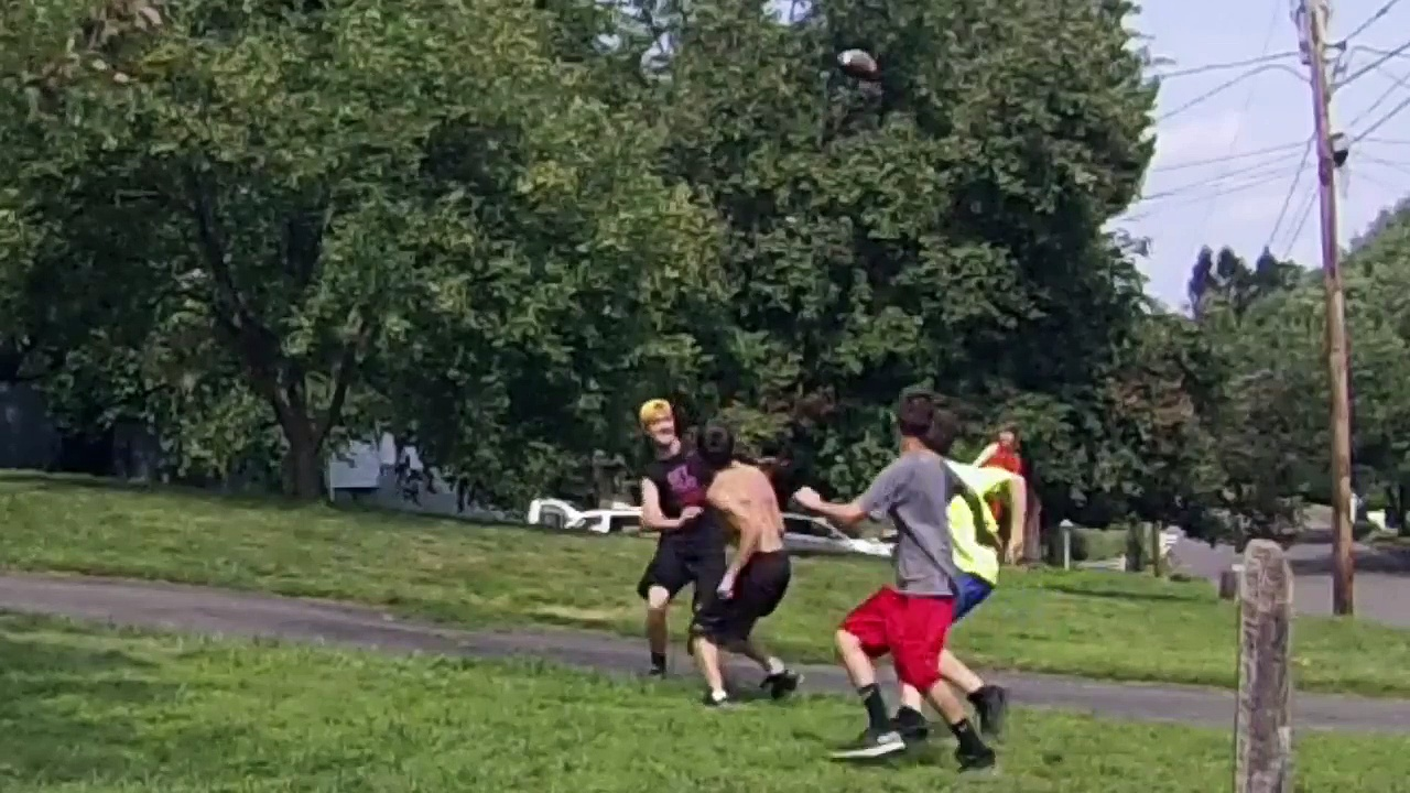 Crazy Backyard Football Highlights