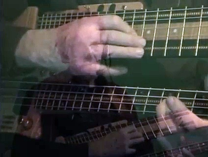 the speed of Touch Guitar tapping