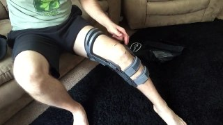 Donjoy OA Fullforce and OA Adjuster knee brace use