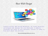 Web Design Melbourne Provides Responsive Web Design and Web Hosting services