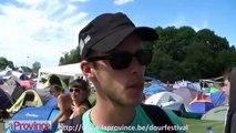 Dour Festival : un petit coucou pour rassurer papa et maman ?