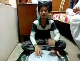 nusrat fateh Ali khan qawwali tumhe dillagi bhool jani gi sing by a Child 2015