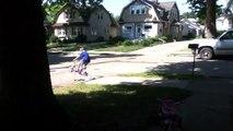 Jaxon at his cousins house