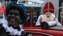 Paul de Leeuw & Robert ten Brink als Sinterklaas en Zwarte Piet