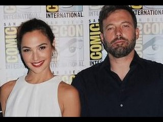 Ben Affleck  Romantically Cuddles Up With Co-Star At San Diego Comic-Con