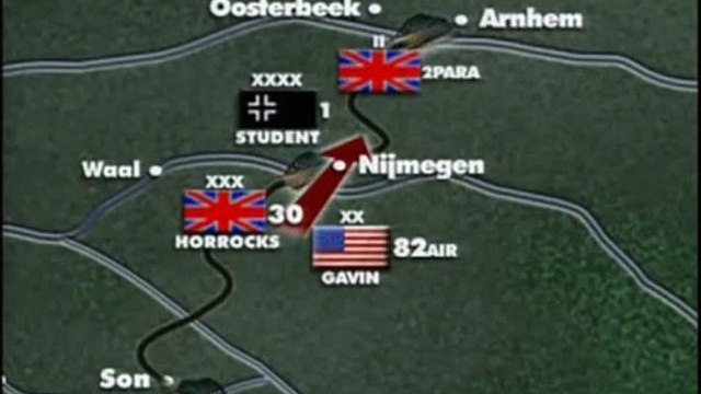 (9/11)Battlefield II Operation Market Garden World War II
