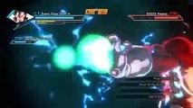 DragonBall Xenoverse SSJ4 Goku and Vegeta VS. SSGSS Goku and Vegeta