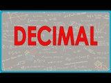 $ CBSE Class VI Maths,  ICSE Class VI Maths -  Decimal