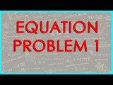 $ CBSE Class VI Maths,  ICSE Class VI Maths -  Equation - Problem 1