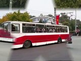 Karosa třídy 700 jako trolejbus v Severní Koreji