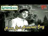 Pooja Phalam Movie Songs   Ninna Leni Andamedo   ANR   Savitri   Jamuna