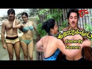 Amavasya Chandrudu Comedy Scenes | Back to Back | Kamal Hassan |  Madhavi