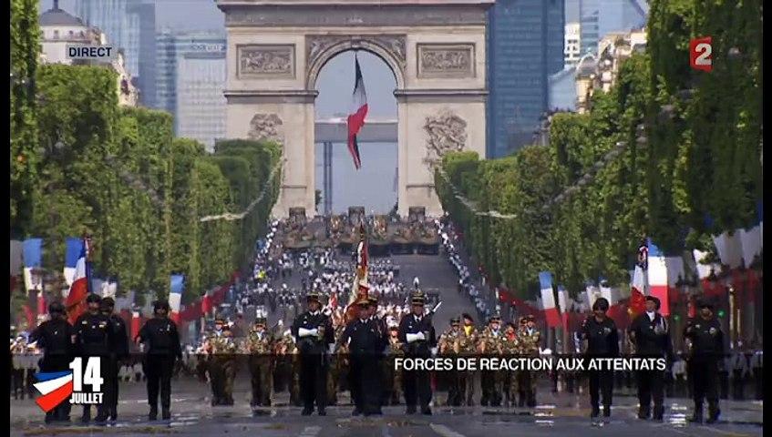 Défilé du 14 juillet : le GIGN, le Raid et la BRI ont été mis à l'honneur