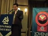 Discurso de Miguel Melgarejo como Presidente de los Jóvenes de Coparmex