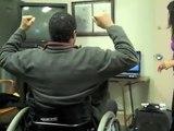 Primesense Camera User in Wheelchair Comments on Motor Rehab