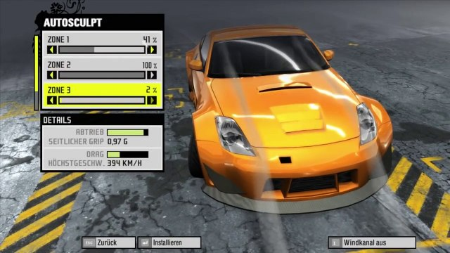 Nissan 350z (Grip Mode) Tuning--Need for Speed Pro Street