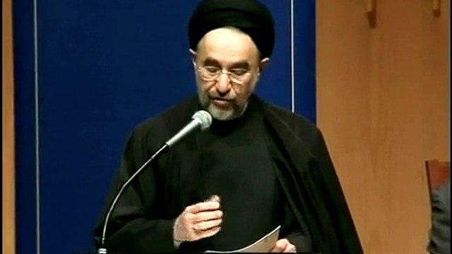 H.E. Dr Seyed Mohammad Khatami at The Australian National University pt3