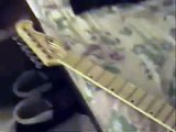 Electric Guitar [see vid. notes/comments for guitar setup/adjustment/string height and nut slotting]