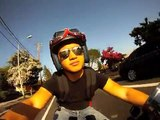 GoPro Camera Test - Honda Rebel Bobber Cruisin'