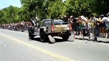 DAKAR 2010: El Hummer Monster de Robby Gordon, es piloteado por Andy Gridder en la ceremonia final.