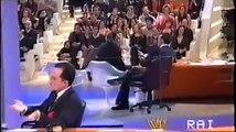 Daniele Luttazzi intervista Lando Buzzanca (Satyricon 2001)